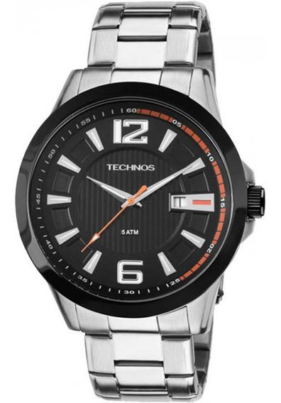 Relógio Technos Masculino Analógico Prata 2115knv/1p Vitrine