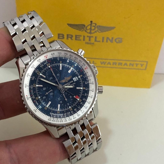 Breitling Navitimer World Special Edition 46mm Completo