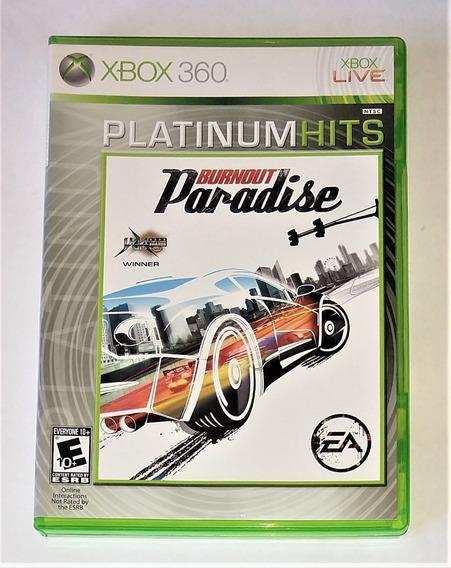 Burnout Paradise Ph Original Completo Xbox 360 & One Cr $15