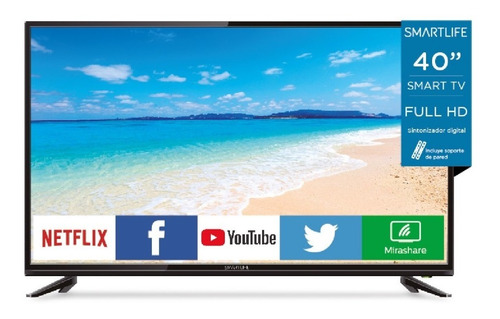 Tv Led 40 Smart Smartlife Envíos En El Día! Ss