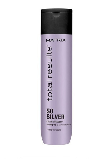 Shampoo So Silver X300ml Total Result Matrix Loreal