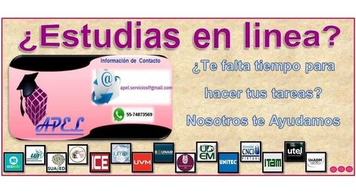 Imagen 1 de 1 de Apoyo Para Estudiantes De Licenciatura En Linea