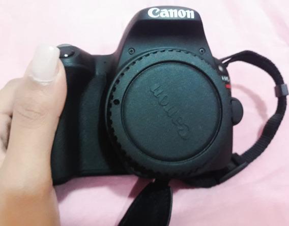 Câmera Profissional Canon Sl2 + Lente Canon 18-55 Mm