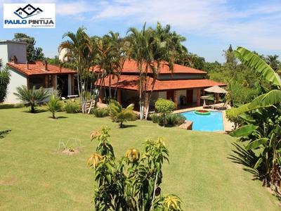Chácara Com 4 Dormitórios, Piscina, Etc No Mosteiro De Itaici - Ch00370 - 3517923