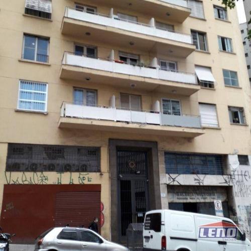 Imagem 1 de 18 de Kitnet Com 1 Dormitório Para Alugar, 30 M² Por R$ 800,00/mês - Centro - São Paulo/sp - Kn0004