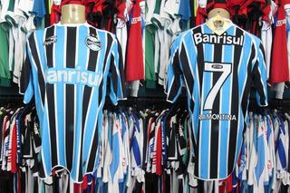 Grêmio 2011 Camisa Titular Tamanho 4g Número 7.