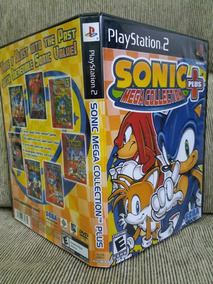 Ps2 Sonic Mega Collection Plus Para Playstation 2 - Patch