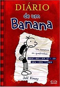 Um Romance Em Quadrinhos Livro Capa Dura Diário De Banana 1