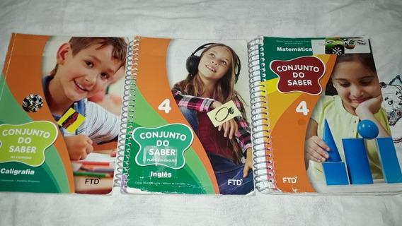 3 Livros Luz Do Saber 4