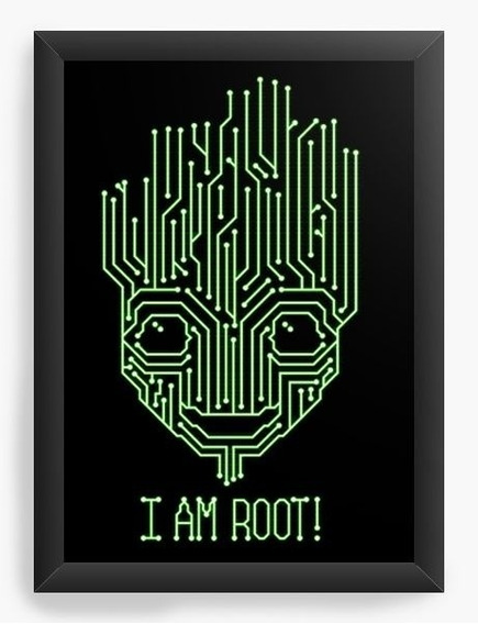 Quadro Decorativo I Am Groot