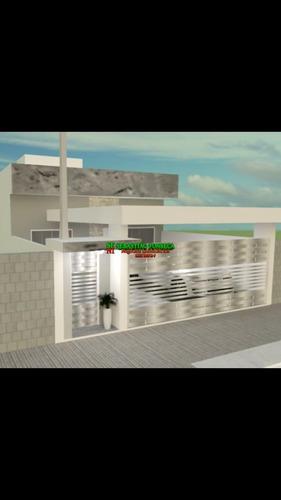 Casa Nova Com 03 Dormitórios No Bairro Setville - 1753