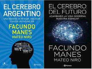 Pack Manes - Cerebro Argentino + El Cerebro Del Futuro