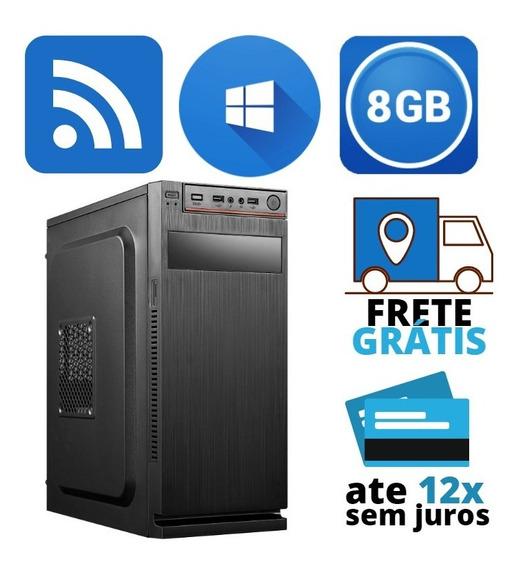 Cpu I5+8gb+ssd Com Wi-fi Frete Grátis Aproveite Só Ate Hoje!