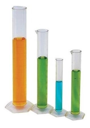Probeta Plastico Polipropileno 100 Ml