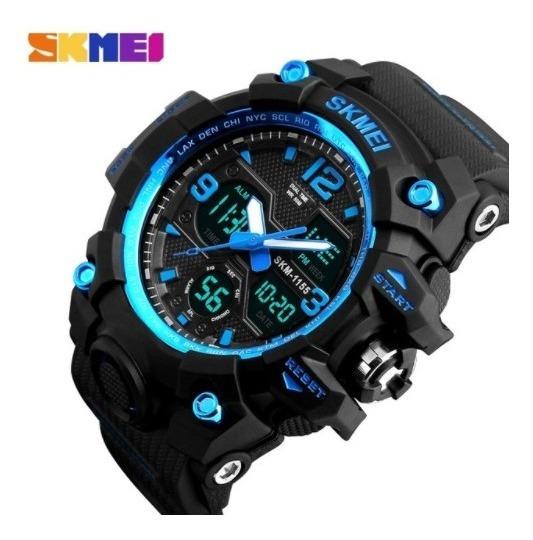 Relógio Importado Skmei® Anadigi Indestructible - Oferta