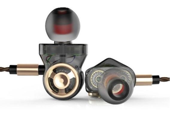 Qkz Ck10 3.5mm Fones De Ouvido Com Fio Original Com Case