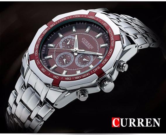 Homens De Negócios Assistir Relógio Curren Mens Relógios Top