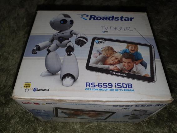 Gps Roadstar C/ Tv Digital