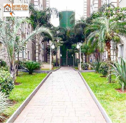 Imagem 1 de 17 de Apartamento Com 2 Dormitórios À Venda, 45 M² Por R$ 245.000,00 - Centro - Guarulhos/sp - Ap1973