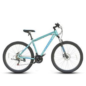 Bicicleta Best De Aluminio Mtb Narfi Aro 29 Celeste