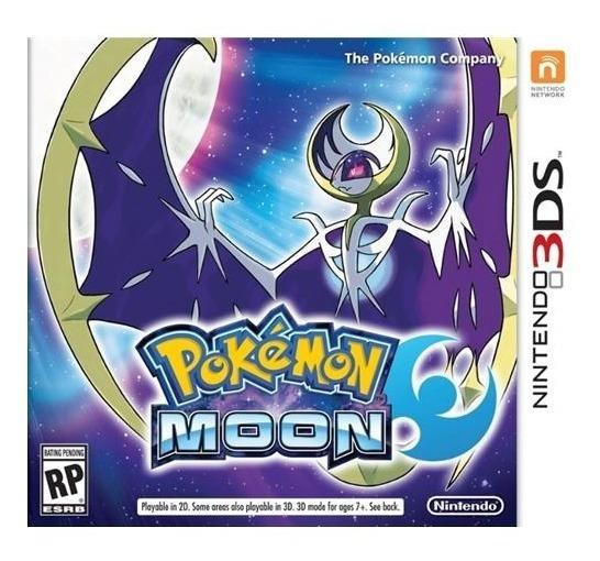 Pokémon Moon- 3ds ! Semi Novo! M. Física!