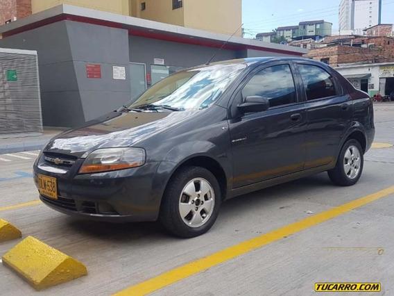 Chevrolet Aveo 1.6 Mt A.a