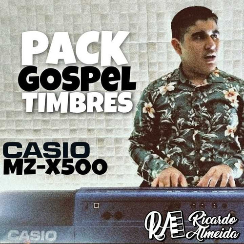 Pack Gospel Timbres Para Casio Mz-x500 (pack Para Mzx500)