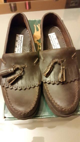 Zapatos Michel Angelo Cuero Engrasado N 41