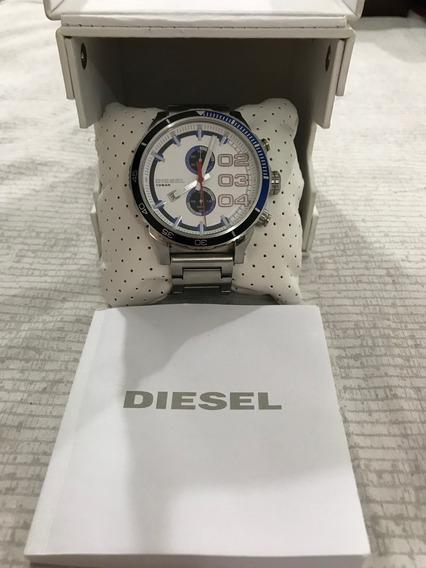 Relógio Diesel Dz-4313 Seminovo Water Resistant 10bar