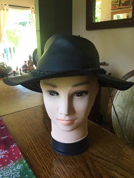 Sombrero Cuero Australiano