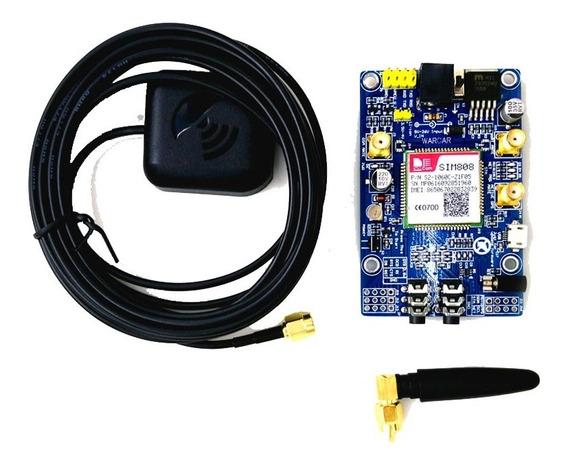 Modem Sim808 Tracker Gprs Gsm Gps Arduino Raspberry Pi