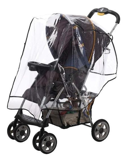 Protector De Lluvia Coche Bebe Transparente Marca Infanti