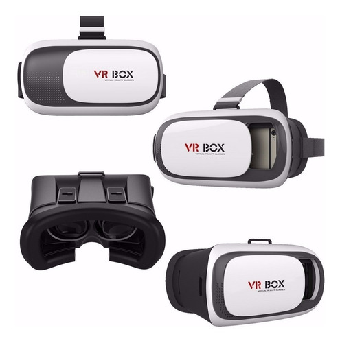 Gafas Realidad Virtual  3d Para Smartphone Vr Box 2 Original