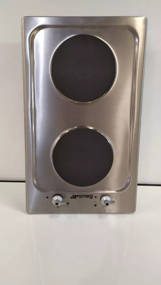 Anafe Electrico Smeg 2 Hornallas Acero Inox. Envio Gratis!!!