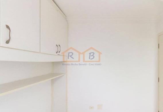 Apartamento Em Condomínio Padrão Para Locação No Bairro Chácara Belenzinho, 3 Dorm, 1 Suíte, 1 Vagas, 65 M - 2999loc