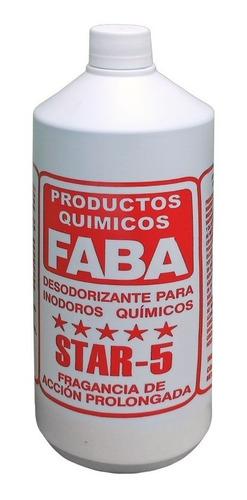 Líquido Disgregante P/ Inodoro Químico Portatil Faba