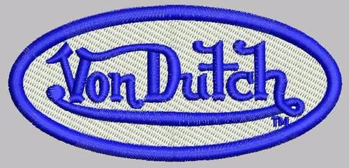 Parches Von Dutch Completamente Borbados, Calidad
