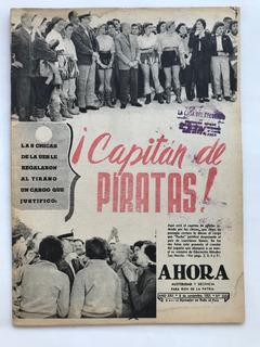 Ahora N° 2333 Cereijo Peron Diana Maggi Noviembre 1955