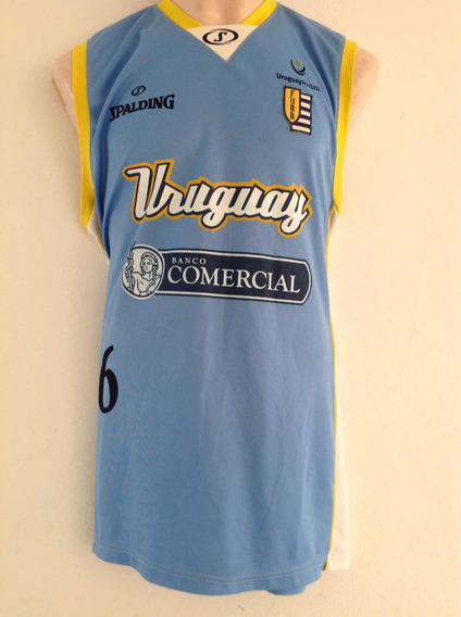 Jersey Basketball Uruguay Spalding