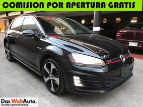 ¡¡vw Golf Gti 2.0 Turbo Dsg Arrendamiento Credito Contado!!