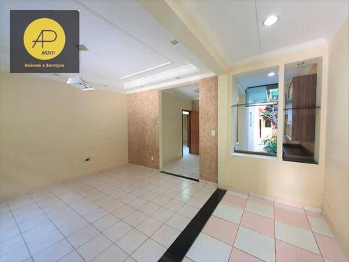 Casa Com 2 Dormitórios À Venda, 196 M² - Parque Residencial Casa Branca - Suzano/sp - Ca0111