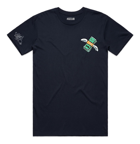 Camiseta Masculina Feminina Money Voador Tumblr 2019 Gc Club