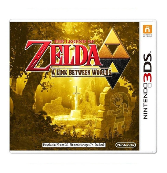 The Legend Of Zelda A Link Between Worlds - 3ds - Usado