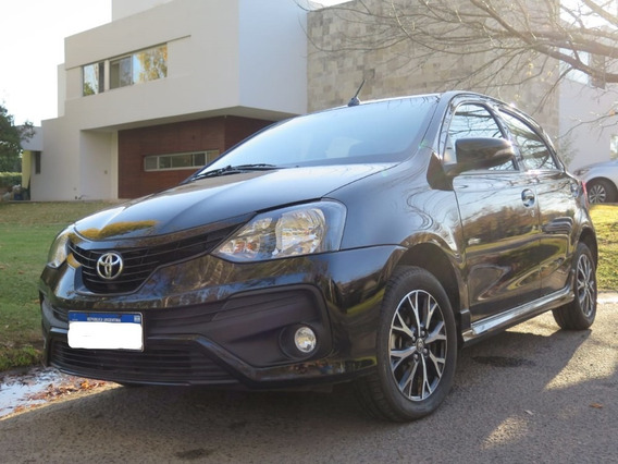 Toyota Etios Xls Automatico Negro - 5p - Hatchback - 2019
