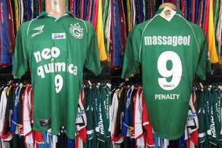Goiás 2000 Camisa Titular Tamanho G Número 9.