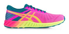 Tenis Asics Fuzex Lyte Mujer Correr Gym Crossfit
