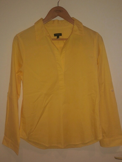 Blusa Para Dama Remangable Talbots