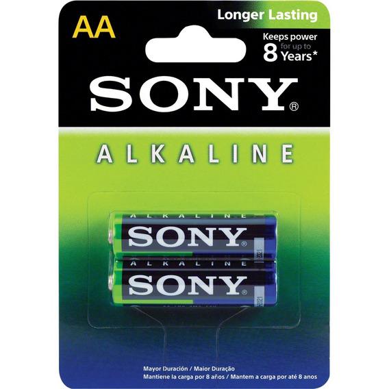 Pilha Alcalina Aa Am3l-b2d Blister C/2 Sony
