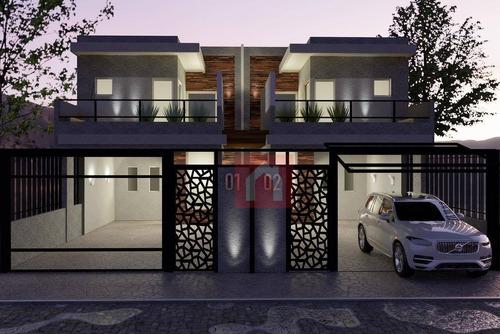 Imagem 1 de 7 de Sobrado Com 3 Dormitórios À Venda, 155 M² Por R$ 799.990 - Panazzolo - Caxias Do Sul/rs - So0210
