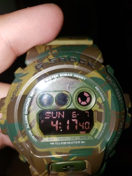 Relógio Casio Gshock Gdx6900 Camuflado
